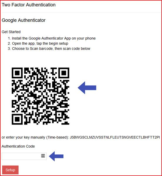 Google Authenticator Is Now Available For Two Factor Authentication Jobkeeper Payment Stp Cash Flow Boost Govreports