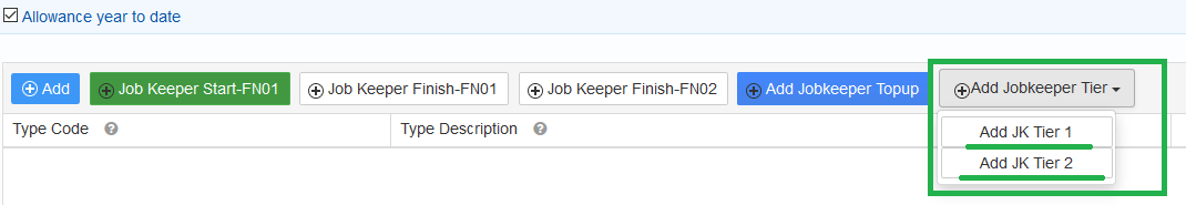 Job Keeper extension